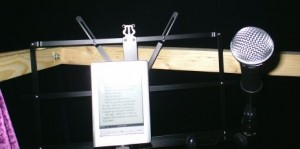 E-reader and music stand