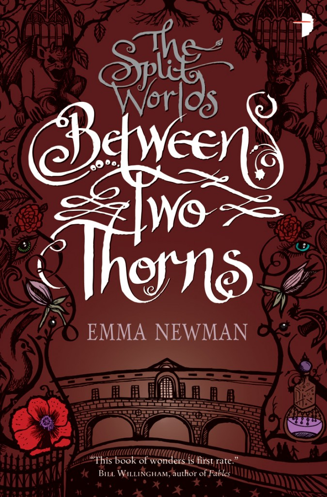 The cover of The Split Worlds: Between Two Thorns